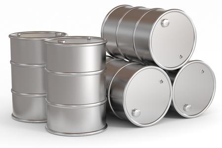石油のバレル。コンピューター生成イメージ。 写真素材