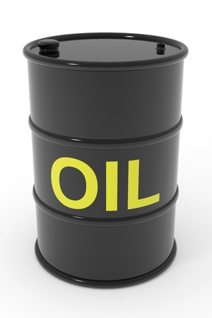 Oil barrel. Computer generated image. Stock Photo - 12952880