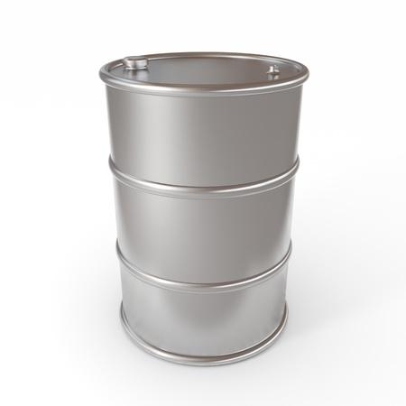 gallon: Oil barrel. Computer generated image. Stock Photo