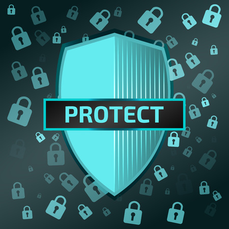 protection icon: Vector protection icon