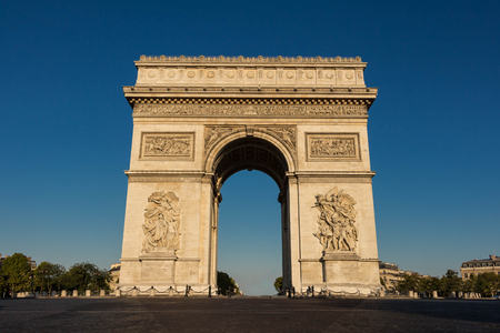 monument historical monument: The Triumphal Arch is the most visited historical monument in french capital.