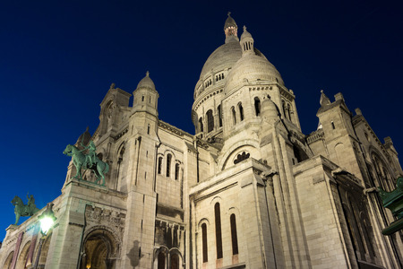 monument historical monument: The basilica Sacre Coeur is the most visited historical and religious monument in Paris.