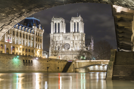 well known: The historic Catholic cathedral Notre Dame is considered as one of the finest examples of French Gothic arcitecture, and it is among the largest and most well-known church buildings in the world.