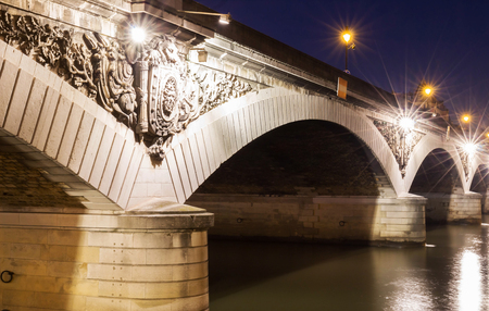 The Pont dAusterlitz is a bridge which crosses the Seine River in Paris, France. It owes its name to the battle of Austerlitz (1805).