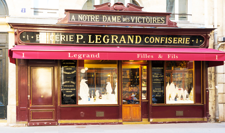 foodies: The French vintage grocery shop Legrand, Paris, France.