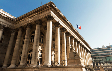 touristy: The Bourse of Paris, France.