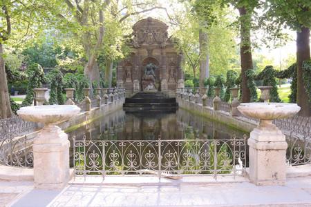jardin de luxembourg: Fontaine de Medicis, Jardin du Luxembourg, Paris.
