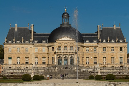 vaux: The Vaux-le-Vicomte is a Baroque French castle constructed from 1658 to 1661 for Nicolas Fouquet, the superintendant of Finances of Louis XIV.