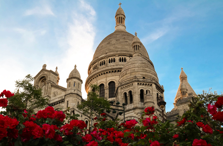 The Famous Sacre Coeur Cathedral, Paris, France