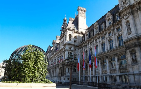 The City hall of Paris - France, France.