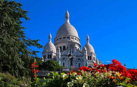 sacre coeur: La basilique du Sacré-Coeur, Paris, France.