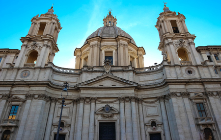 Saint Agnese in Agone is a 17th-century Baroque church in Rome.
