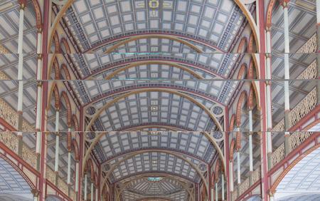 L'intérieur de la cathédrale Saint-Louis, Fort de France, dans l'île des Caraïbes françaises de la Martinique