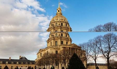 The cathedral of Saint Louis, Paris.