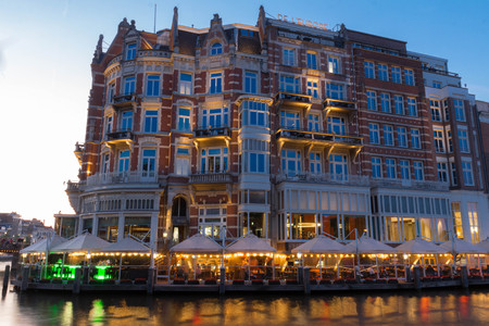 Hotel de l Europe is a five star hotel located on the Amstel river. The 19th century hotel became an official monument in 2001.