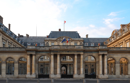 The Conseil d Etat Council of State , Paris, France. Banque d'images