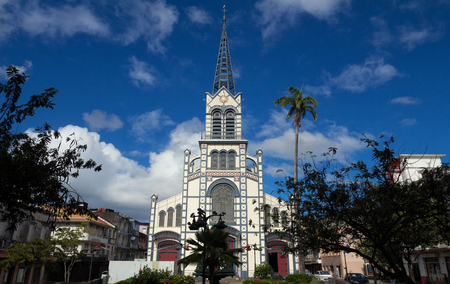 St. Louis Cathedral, Fort de France, in the French Caribbean island of Martinique Banque d'images