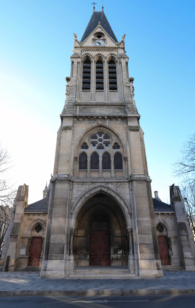 The Church Saint-Denis-de-L Estree is a monument in the municipality of Saint-Denis , Ile-de-France.