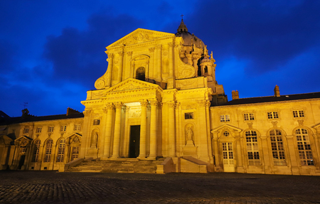 The Val de Grace Church at sunny day in Paris, France Stock Photo