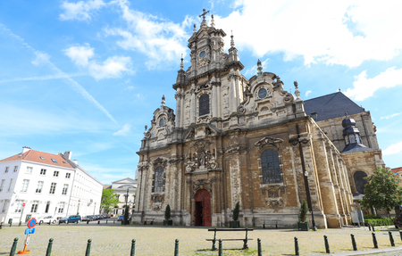 Church of St. Jean Baptiste au Beguinage in Brussels, Belgium