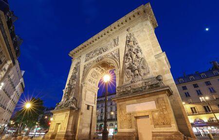 Porte Saint-Denis is a Parisian monument located in the 10th arrondissement of Paris, France.