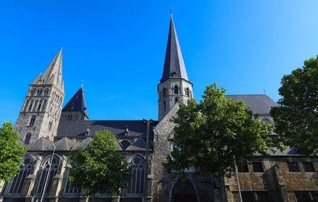 Saint Jacobs Church in Ghent - East Flanders, Belgium Banco de Imagens