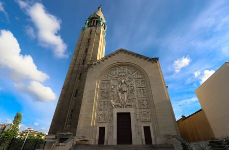 The church of the Sacre Coeur is the monument in the municipality of Gentilly, France.