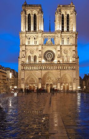 The Notre Dame is historic Catholic cathedral, one of the most visited monuments in Paris.