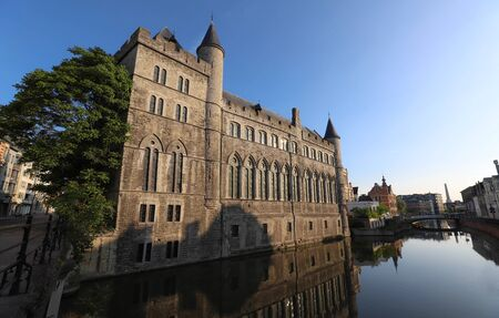 Geeraard the Devil is a 13th century gothic architecture building in Ghent, Belgium