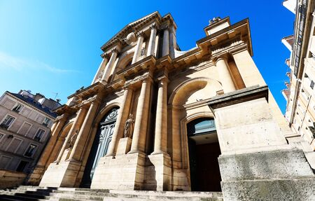 Church of Saint-Roch - a late Baroque church in Paris, dedicated to Saint Roch. Paris. France.