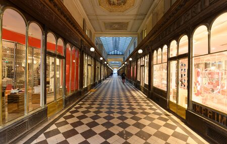 Galerie Vero Dodat near Palais-Royal. Galerie Vero Dodat is one of the 150 passageways and galleries that were opened in Paris in the mid 19th century.