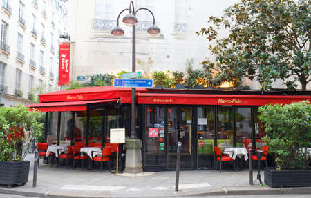 Located in 6th district of Paris, the Marco Polo is the restaurant of Italian gastronomy.