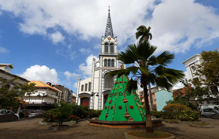St. Louis Cathedral, Fort de France, in the French Caribbean island of Martinique