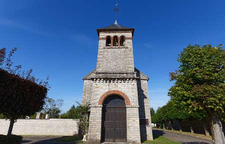 Church Saints-Philippe-et-Jacques de Veneux-les-Sablons. church located in Seine-et-Marne, in France.
