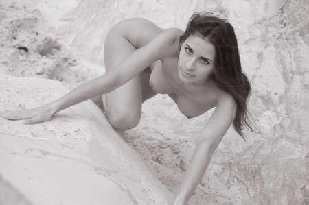 nudity: nude woman
