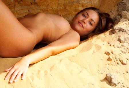 erotic fantasy: nude woman