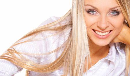 Portrait blonde