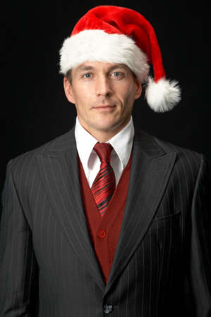 Christmas Businessman Stock Photo - 3860896