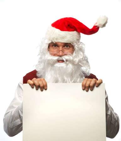Happy Christmas Santa. photo