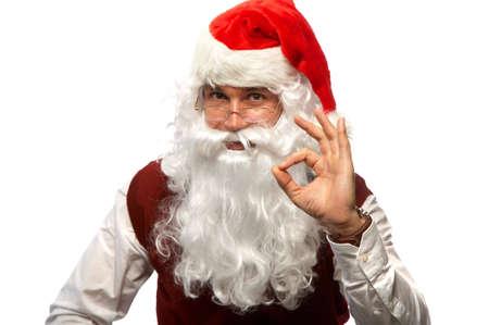 Happy Christmas Santa photo
