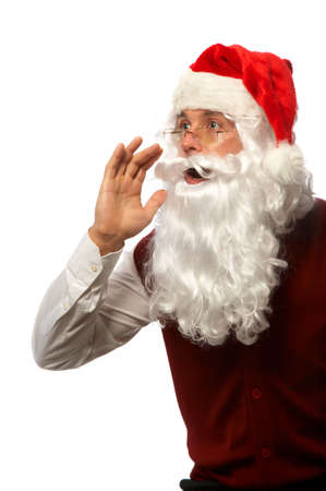 Santa Shouts photo