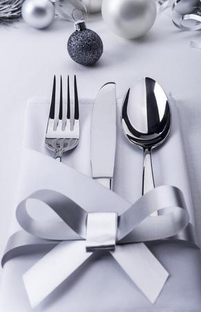 Silverware ready for celebration photo