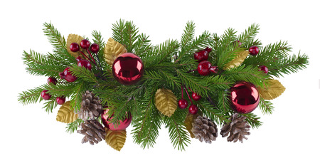 Christmas and new year decoration element for any kind of design photo