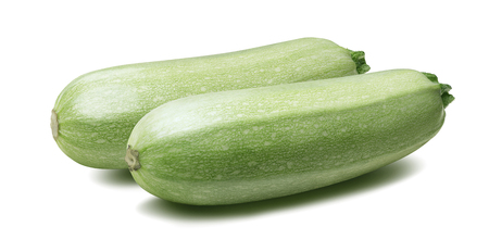 marrow squash: Squash vegetable marrow zucchini isolated 5 on white background as package design element