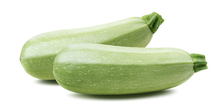 marrow squash: Squash vegetable marrow zucchini isolated 2 on white background as package design element