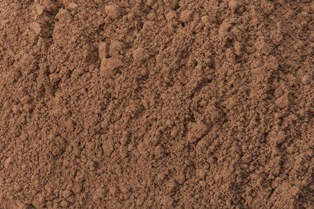 Cocoa powder texture.