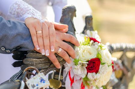 Wedding attributes Archivio Fotografico