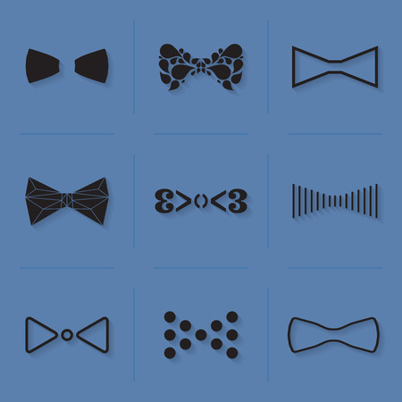 official wear: BOW TIE_ILLUSTRATION_VECTOR