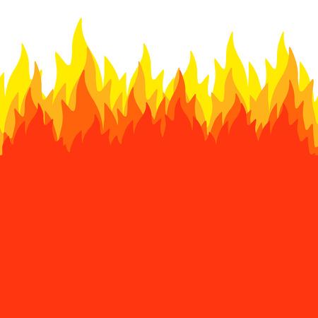 llamas de fuego: Las llamas de fondo