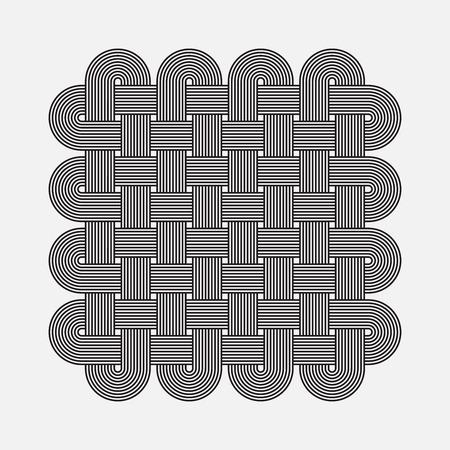 고립 된 개체: 트위스트 라인, 벡터 요소, 고리 패턴, 고립 된 개체
